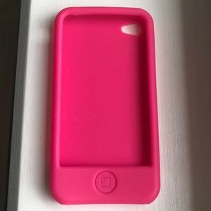 Accessories - Hot Pink iPhone 4 Case! RUBBER